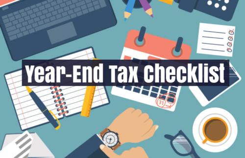 Year-End-Tax-Checklist-2019